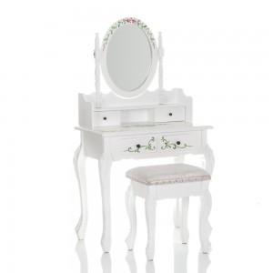 Kosmetinis staliukas + kėdė ROSI