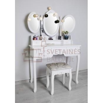 Kosmetinis staliukas + kėdė RITA