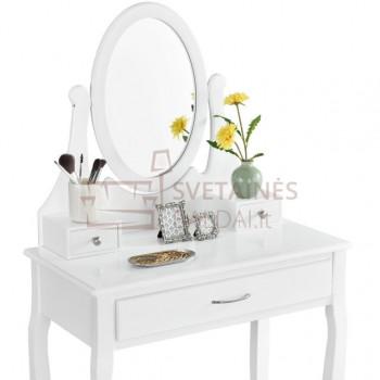 Kosmetinis staliukas + kėdė ROMA