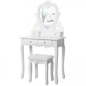 Kosmetinis staliukas + kėdė RUSNĖ