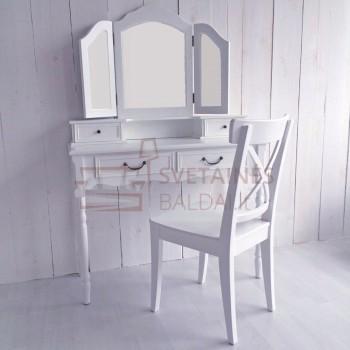 Kosmetinis staliukas ANA + kėdė