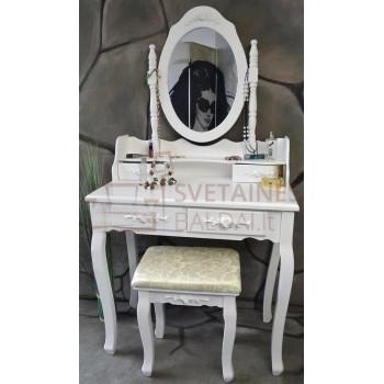 Kosmetinis staliukas + kėdė