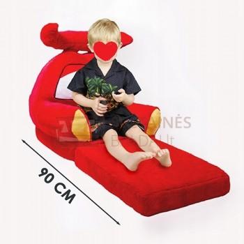 Vaikiškas ištiesiamas fotelis